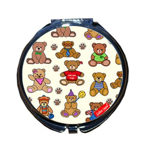 Selina-Jayne Teddy Bears Limited Edition Designer Compact Mirror